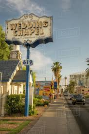 graceland wedding chapel on las vegas boulevard the strip las vegas nevada united states of america north america