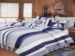image of nautical bedding beach ideas