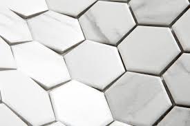 union ceramics international barcelona inkjet printed porcelain hexagon