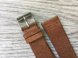 suede leather watch band