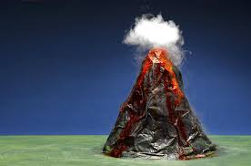 chemistry project and experiment ideas baking soda and vinegar powers the chemical volcano the chemical reaction between baking soda and