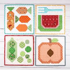 New Lori Holt PDF Patterns Available at Fat Quarter Shop! - The ... & Nothing says summer like farm fresh produce, and Lori Holt has harvested  four adorable mini quilts to bring that vintage farm feel indoors! Adamdwight.com