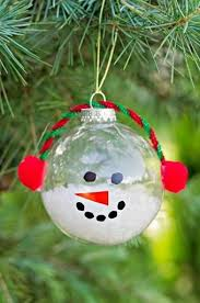 Diy Tutorial: Diy Christmast Crafts / Diy Christmas Snowman within Clear  Christmas Ball Ornament Crafts