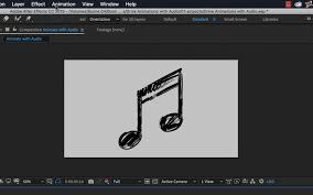 Animations Graphics Video Tutorial Using Audio To Drive Your Motion Graphics