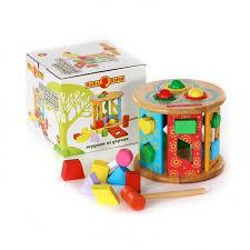 <b>Деревянная игрушка Папа Карло</b> Цилиндр - Акушерство.Ru