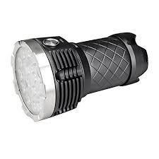 MecArmy PT60 Patented Ultra Bright 9600 Lumens 16 <b>CREE</b> XP-G2 ...