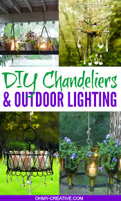 pretty do it yourself chandeliers outdoor lighting ideas ohmy creative