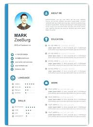 Template For Curriculum Vitae Gorgeous Curriculum Vitae Template Resume Word Free Creative Templates For