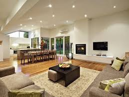 5 tags Contemporary Great Room with metal fireplace, Hardwood floors,  Sliding door, High ceiling,
