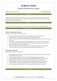 Airline Customer Service Agent Resume New Airport Customer Service Agent Resume Samples QwikResume