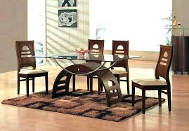 dining room table with 6 chairs glass top dining table and chairs glass dining room table