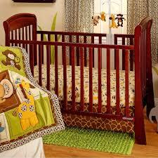 crown craft jungle dreams 3 pc crib bedding set