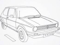 Kleurplaat Volkswagen Related Keywords Suggestions Kleurplaat