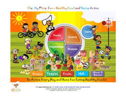 healthy food plate for kids. Simple Kids And Healthy Food Plate For Kids