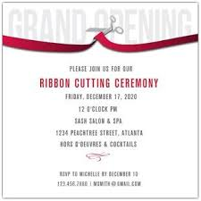 Grand Opening Invitations Grand Opening Invitations Announcements Paperstyle
