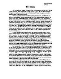 write essay my hero my personal hero essay