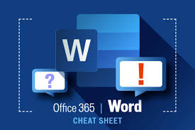Word For Office Word For Office 365 Cheat Sheet Computerworld