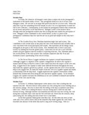 life of pi summer reading essay life of pi essay julia clew pi  3 pages fall trimester final 2011