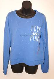 Victoria Secret Sweater Size Chart Victorias Secret Love Pink Sweater Pull Over Long Sleeve
