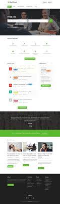 Career Page Design Templates Html 10 Best Html5 Job Board Website Templates 2019 Responsive