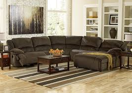 reclining sectional with chaise.  With Toletta Chocolate Right Facing Chaise End Power Reclining SectionalSignature  Design By Ashley Intended Sectional With O