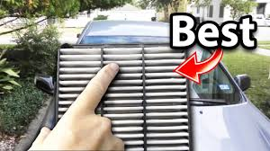 Car Air Filter Comparison Chart The Best Engine Air Filter In The World And Why