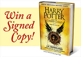 win a signed harry potter book