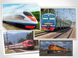 Презентация по окружающему миру по теме Виды транспорта  Железнодорожный транспорт вид наземного транспорта который перевозит грузы и пассажиров при помощи колёсных транспортных средств по рельсовым путям