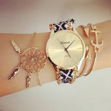 Dream Catcher Gold Bracelet Super Cute Watch What To Wear Today Pinterest Girly Gold 25