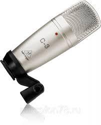 <b>Студийный микрофон BEHRINGER</b> C-3 - купить по лучшей цене ...