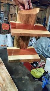 cedar wall shelf