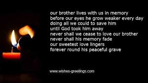 Loss Of A Brother Quotes Custom Death Of Brother Poems And Condolence Messages For Sympathy Cards