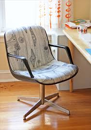 reupholster office chair. Reupholstered Steelcase Chair Project How About Orange Reupholster Office