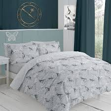 ln grey duvet set