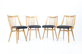 vintage 60s furniture. Retro Vintage 60\u0027s Side Chairs In Oak With Spindle Back 60s Furniture