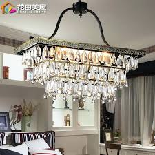rustic metal chandelier get ations a rectangular crystal chandeliers restaurant retro rustic wrought iron chandelier bedroom lamp aisle personality