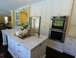U Shaped Kitchen Remodel Aliso Viejo White Transitional U Shaped Kitchen Remodel With