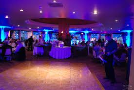 kona kai wedding reception blue wedding uplighting