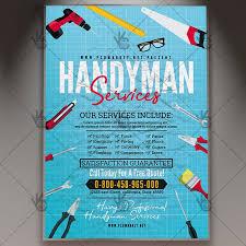 Services Flyer Handyman Services Flyer Community Psd Template Psdmarket