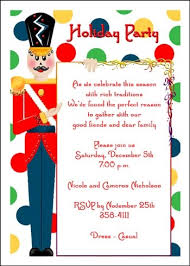 christmas party invitation wording at  nutcracker christmas party invites