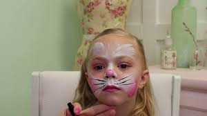 Small Picture Easy Easter Bunny Face Paint Tutorial Snazaroo YouTube