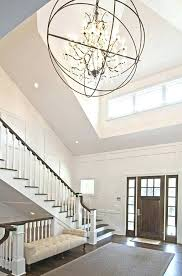 modern entry chandelier best entryway chandeliers crystal contemporary foyer large