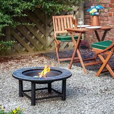 guadeloupe 30 tiled fire pit table with barbecue grill