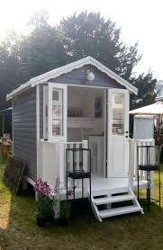 Brilliant idea for a small Guest House...or playhouse/sleepover house for
