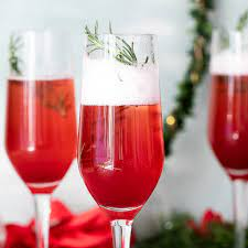 ginger cranberry poinsettia tails