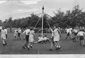 Image result for maypole dancing uk