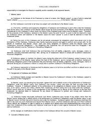 Sublease Agreement Samples Free Sublease Agreement Template California Sample Residential Lease