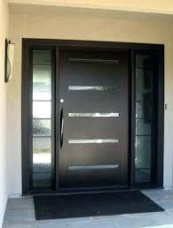 modern wood front door wooden