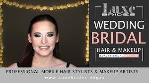 smokey eye wedding bridal makeup artists las vegas luxe brides