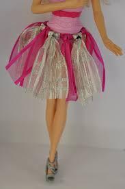 diy barbie clothes ribbon tutu